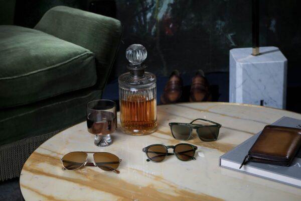 Berluti and Oliver eyewear